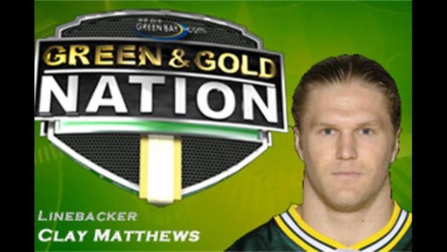 Matthews Back on the Field in Green Bay