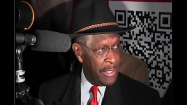 Herman Cain campaign stops in Green Bay