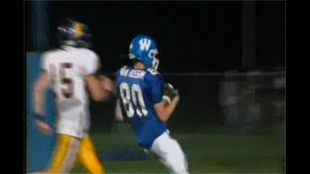 August 24th HS Football - Wrightstown 30, Kewaunee 7