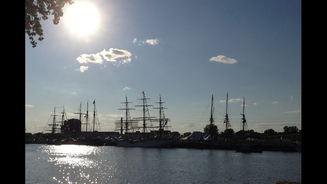 Skill, communication, and conditions key to docking tall ships safely