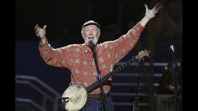 Warren Gerds/Critic at Large: A few moments with Pete Seeger