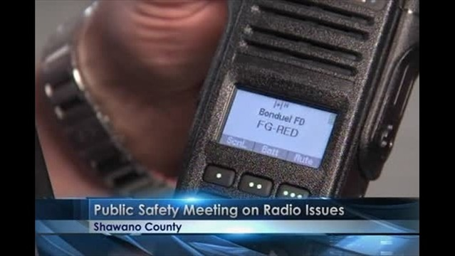 Radio transmission problems resolved in Shawano County