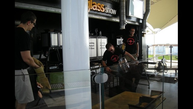 Warren Gerds/Critic at Large: Unexpected kick: glassblowing at sea