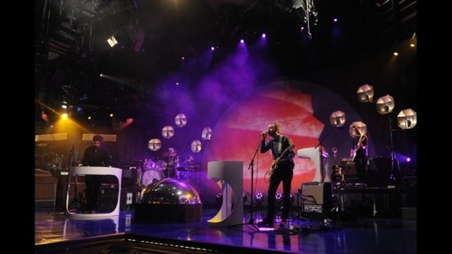 Broken Bells Live on Letterman