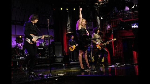 The Band Perry Live on Letterman Concert