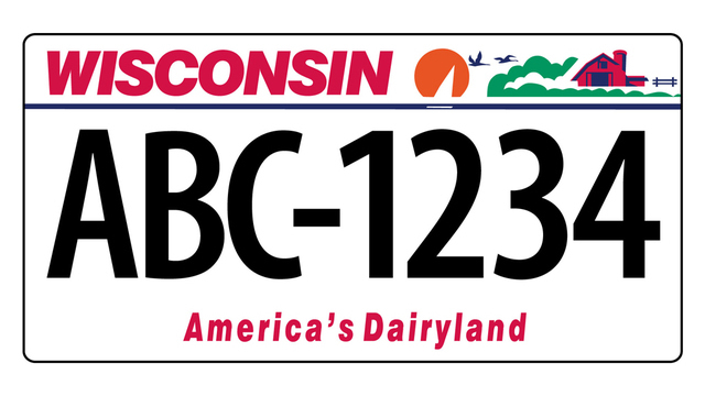 Wisconsin to start issuing seven-character license plates