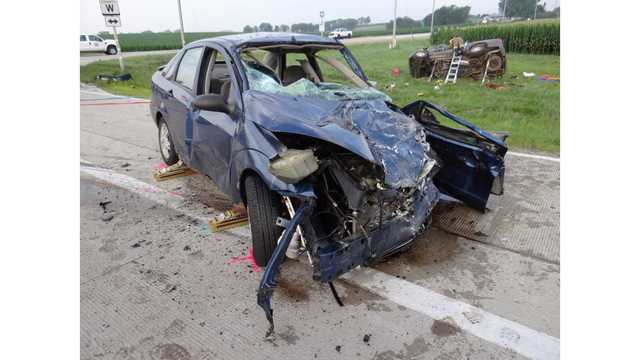 Persons identified after deadly Dodge County crash