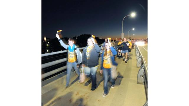 Suicide prevention, awareness goal of 'Be the Light' walk