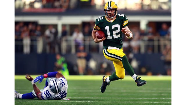 Packers head across the border to battle Vikings