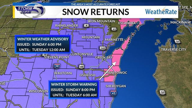 Winter Storm Inga Gets Started in Midwest