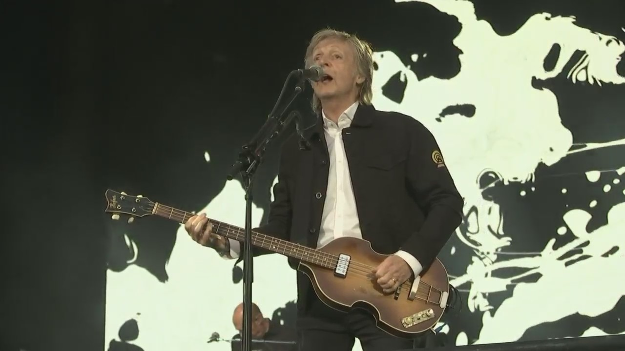 Sir Paul McCartney performs at Lambeau Field for first time
