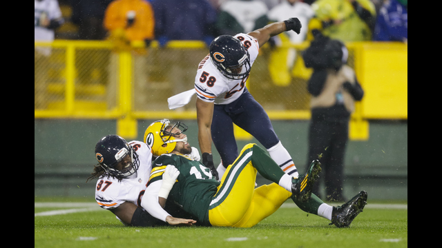 8fbdfdb68a4 Bears spoil Packers' Thanksgiving