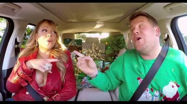 all star cast sings all i want for christmas is you on carpool karoke - All I Want For Christmas Cast