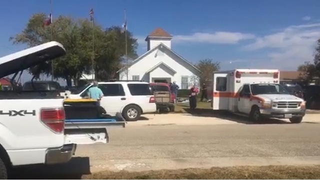 Shooter in Texas Church shooting identified as 26-year-old Devin Patrick Kelley