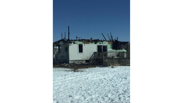 A Family is Out of Their Home Following a House Fire in Kewaunee
