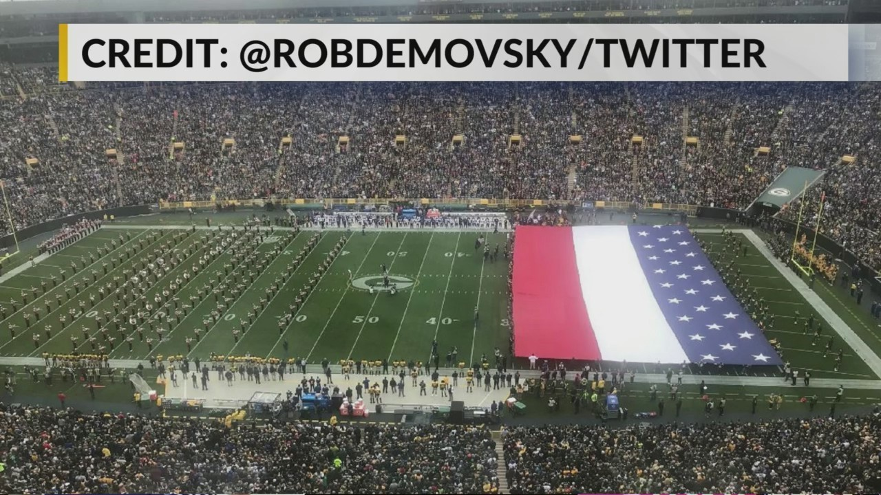 Packers Will No Longer Use Flag Banner At Games