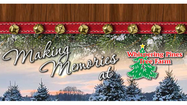 Whispering Pines Tree Farm Giveaway 2018