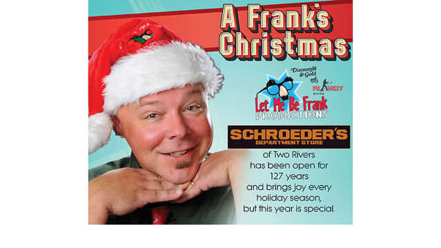Warren Gerds/Critic at Large: 'A Frank's Christmas: Schroeder's Christmas' Scheduled in Four Cities