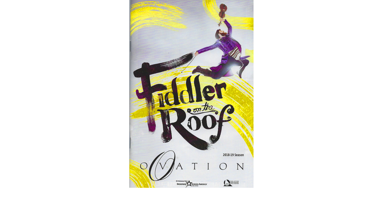 fiddler on the roof pac