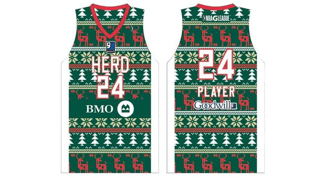 Wisconsin Herd Wearing Holiday Sweater-Themed Jerseys