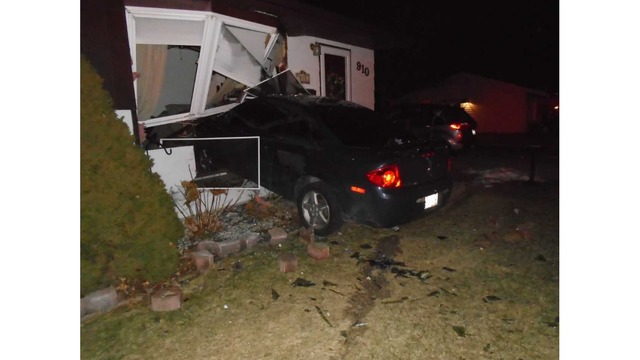 Man Arrested for an OWI After Driving Into Resident's Home