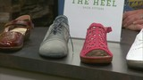 Buy or try on shoes to benefit the New Community Shelter at The Heel Shoe Fitters