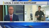 Local 5 goes to Boot Camp